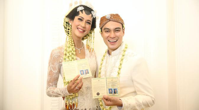 Pernikahan Paula Verhoeven dan Baim Wong (Foto: Nurwahyunan/Fimela.com)