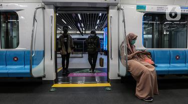 MRT Jakarta Targetkan 65 Ribu Penumpang Tiap Hari di 2021