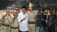 Suasana syuting teaser film Naga Bonar Reborn. (Istimewa)