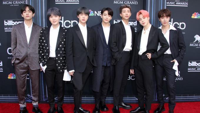 BTS Berhasil Raih Dua Piala di Billboard Music Awards 2019