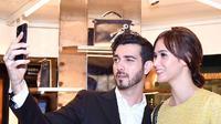 Artis yang juga mualaf sebelum nikah adalah Renata Kusmanto. Istri Fachri   Albar itu menjadi mualaf sebulan sebelum resmi dipersunting Fahri Albar   pada 6 Mei 2014. (Instagram/renata711)