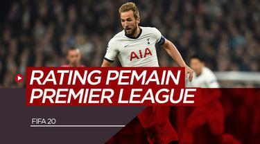 5 Pemain Premier League dengan Rating Terbaik di FIFA 2020. (Bola.com/Dody Iryawan)