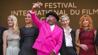 Festival Film Cannes 2021. (AP Photo/Vadim Ghirda)