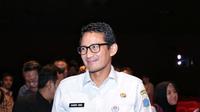 Bagi Sandiaga, film Benyamin: Biang Kerok memberikan tempat khusus terkait kesenian tradisional Betawi. Dan berharap kebudayaan Betawi semakin banyak yang mencintai. (Adrian Putra/Bintang.com)