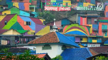 Berwarna-warni, Kampung Pelangi di Semarang Menjadi Sorotan Dunia