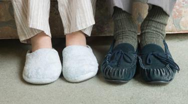 Ilustrasi sandal (iStock)