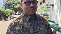 Mantan Menteri Energi dan Sumber Daya Mineral (ESDM) Sudirman Said usai menemui Wakil Presiden Jusuf Kalla. (Foto: Liputan6.com/Intan Umbari Prihatin).