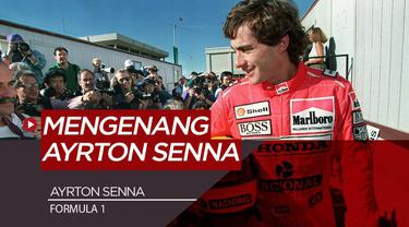 Berita Video mengenang legenda Formula 1, Aryton Senna yang berpulang akibat kecelakaan tragis di GP San Marino Sirkuit Imola