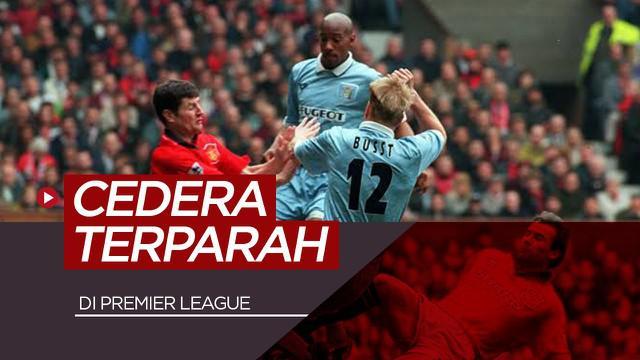 Berita video 9 cedera terparah di Premier League.