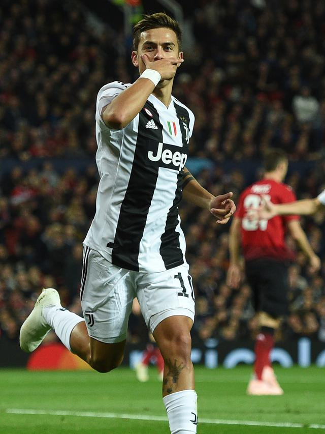 Gol Tunggal Dybala Antar Juventus Permalukan MU di Old Trafford