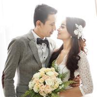 Ilustrasi pengantin baru./Copyright shutterstock.com