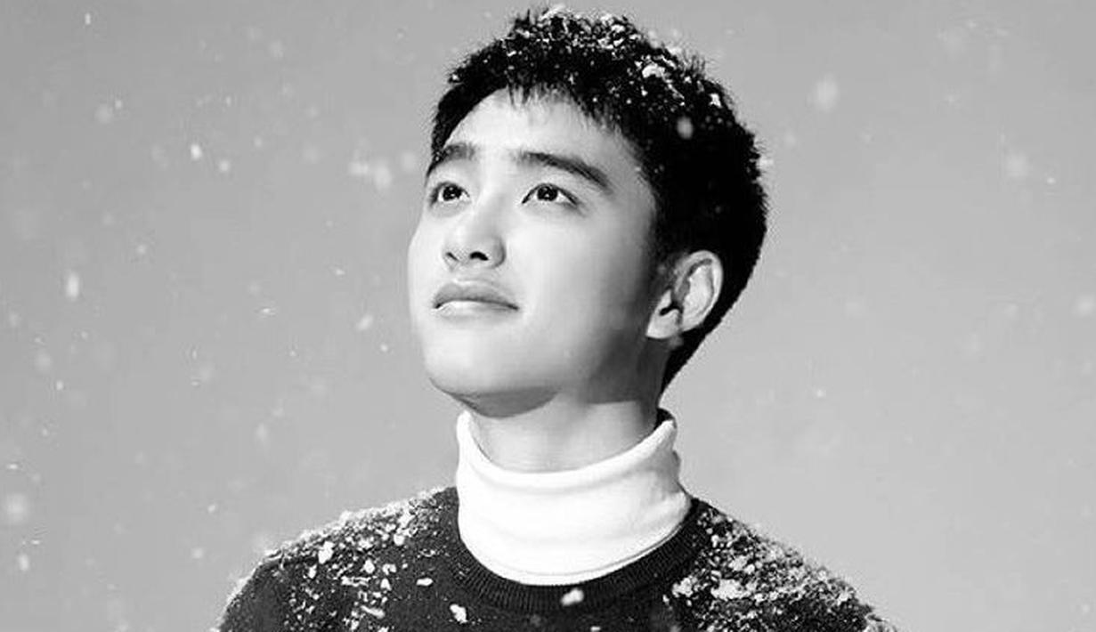 Tidak hanya punya wajah yang imut saja, D.O EXO juga punya suara tenor yang luar biasa. Wajar jika idol kelahiran 23 Januari 1993 ini menjadi andalan di EXO. (Foto: soompi.com)