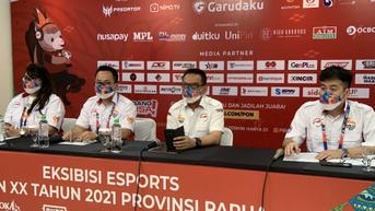 Ekshibisi Esports PON XX Papua 2021 Dibuka Malam ini, 188 Atlet Siap Berlaga