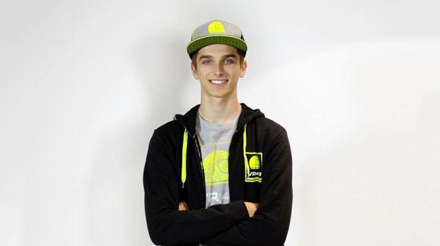 Luca Marini digadang-gadang bakal meneruskan kehebatan Valentino Rossi di ajang MotoGP.