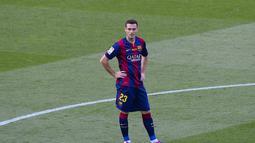 1. Thomas Vermaelen – Cedera membuat mantan kapten Arsenal tersebut gagal tampil apik. Namun Barcelona secara berani mendatangkan Vermaelen dengan kondisi yang masih cedera. (AFP/Josep Lago)