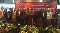 Relawan Barisan Nusantara deklarasi dukung pasangan Jokowi-Moeldoko maju Pilpres 2019.