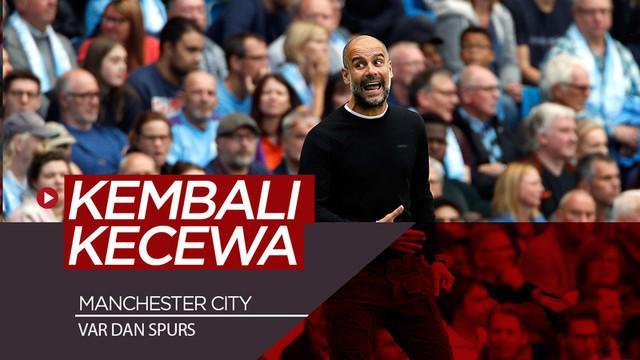 Berita video Manchester City harus kembali dikecewakan oleh VAR (Video Assistant Referee) dan Tottenham Hotspur. Kali ini pada pekan kedua Premier League 2019-2020, Sabtu (17/8/2019).