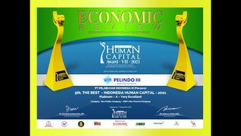 Pengelolaan SDM Terencana dengan Baik, Pelindo III Raih Penghargaan di Human Capital Award 2021