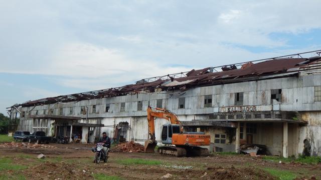 Menanti Bangunan Kuno Pabrik Gula Kalibagor ke Bentuk