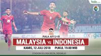 Piala AFF U-19, Malaysia Vs Indonesia 2 (Bola.com/Adreanus Titus)