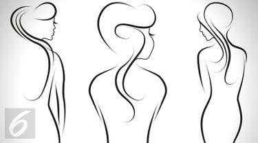 Ilustrasi telanjang