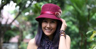 Pesinetron dan pemain film, Ardina Rasti kembali syuting horor. Kali ini, ia bermain dalam web series berjudul 'School of The Dead'. (Nurwahyunan/Bintang.com)