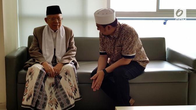 Ngabalin Sakit: VIDEO: Ma'ruf Amin Jenguk Arifin Ilham Di Rumah Sakit