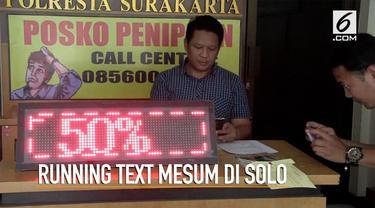 Polisi menangkap peretas konten running text hotel di Solo. Pelaku adalah karyawan di hotel tersebut.