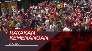 Berita Video Rayakan Kemenangan Piala FA, Fans Arsenal Hiraukan Protokol Kesehatan