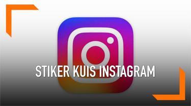 Instagram memberikan fitur baru agar pengguna dapat membuat kuis dan menghitung otomatis lewat Instagram Stories. Fitur baru tersebut bernama stiker kuis dan berikut cara menggunakannya.