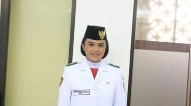 Paskibraka Nasional 2019 putri dari Bali, I Dewa Agung Ayu Alamanda Diastara