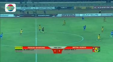 Highlights Piala Presiden antara Persib Bandung vs Mitra Kukar.