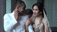 Ayu Ting Ting dan mantan suaminya Enji (Sumber: Kapanlagi.com)