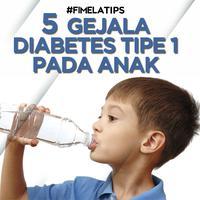 5 Gejala Diabetes Tipe 1 pada Anak