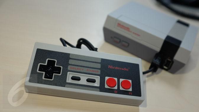 NES Classic Edition, Konsol lawas yang Nintendo hidupkan kembali. (Liputan6.com/ Iskandar)