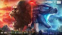 Konten eksklusif Godzilla vs Kong resmi hadir di PUBG Mobile. (Doc: Tencent/ PUBG Mobile)