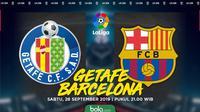 La Liga - Getafe Vs Barcelona (Bola.com/Adreanus Titus)