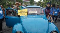 Keluarga muda asal Bantul memenangkan hadiah VW kodok edisi terbatas