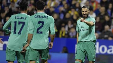 Bantai Zaragoza 4-0, Real Madrid Lolos ke Perempatfinal Copa del Rey