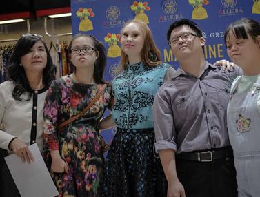 Model Down Syndrome Madeline Stuart Sapa Penggemar di Jakarta