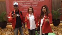 PKPI menyerahkan Laporan Penerimaan dan Pengeluaran Dana Kampanye (LPPDK) Pemilu 2019 kepada KPU. (Liputan6.com/Ika Defianti)