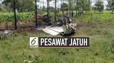 Sebuah pesawat yang membawa misionaris Amerika terjatuh di Guatemala. Akibatnya penumpang mengalami luka berat.