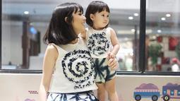 Meski masih berusia 5 tahun, Gempi sudah sangat pintar berpose di depan kamera.(Kapanlagi.com/Rita)