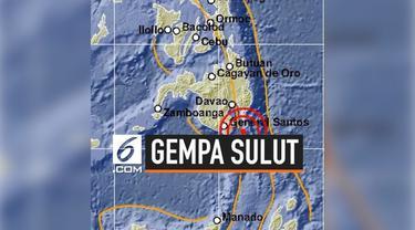 Gempa dengan magnitudo  5,1 mengguncang wilayah Sulawesi Utara. Gempa tidak menimbulkan potensi tsunami.