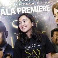Rachel Amanda saat hadir dalam di preskon film Say I Love You di di XXI Plaza Senayan, Jakarta, Selasa (25/6/2019). (Agus Apriyanto/© KapanLagi.com)