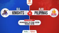 CLS Knights Vs Alab Pilipinas Leg 2 (Bola.com/Adreanus Titus)
