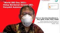 dokter spesialis penyakit dalam dan konsultan gastroenterologi hepatologi RSCM-FKUI, Prof. Marcellus Simadibrata. Foto PT. Takeda.