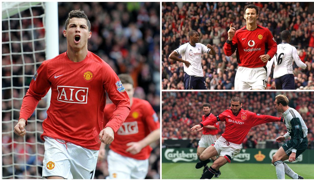 FOTO 7 Pemain Terbaik Manchester United Saat Era Sir Alex