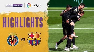 Berita video highlights Liga Spanyol, Barcelona kalahkan Villareal 2-1 lewat gol Antoine Griezmann