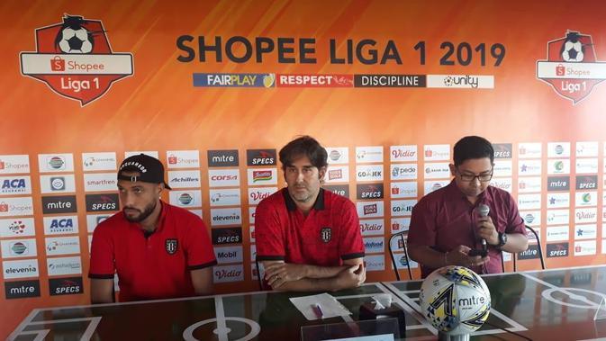 Teco: Bali United Siiap Ladeni Persebaya Surabaya